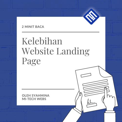 Kelebihan Website Landing Page mitechwebs